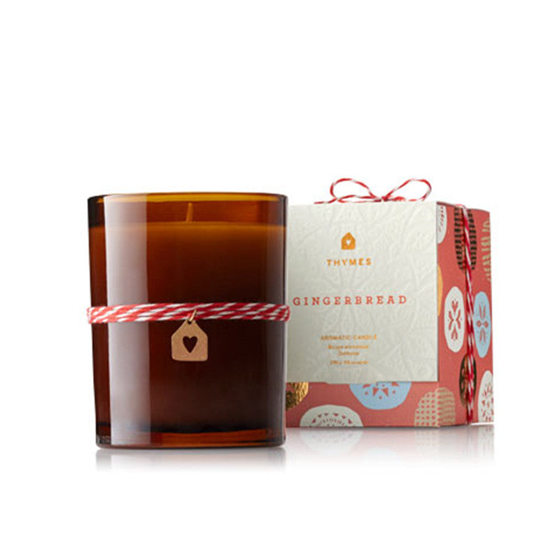 Thymes Gingerbread Candle | Christmas Holiday Gift Baskets for her | Best Christmas candles
