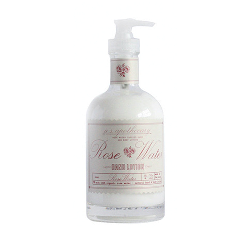 U.S. Apothecary Rose Water Hand Lotion