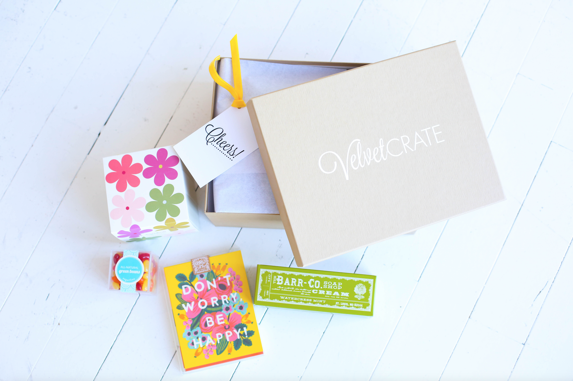 Birthday Crate for Her | Congratulations Gift Basket | Happy gifts for her