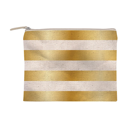 Slant Collections Gold Foil Cosmetic Bag - VelvetCrate