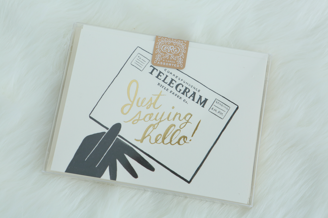 Rifle Paper Co. notecards | Thinking of You gift for her