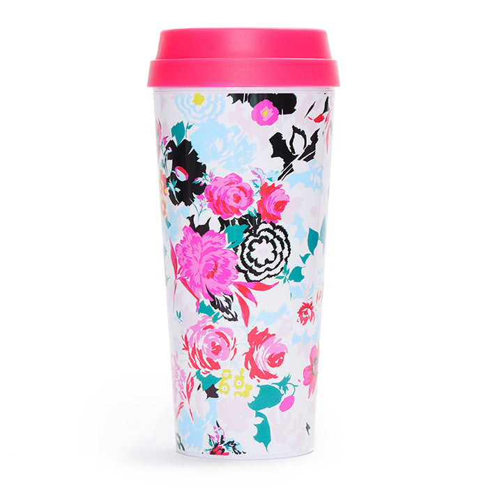 ban.do Hot Stuff Florabunda Thermal Mug | Coffee Mug for her | Bridesmaid gift idea | pretty coffee mug | Birthday Gift Crate
