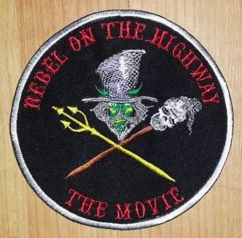 Rebel on the Highway Color Voodoo Patch