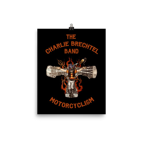 The Charlie Brechtel Band 'Motorcyclism' Poster (Color)