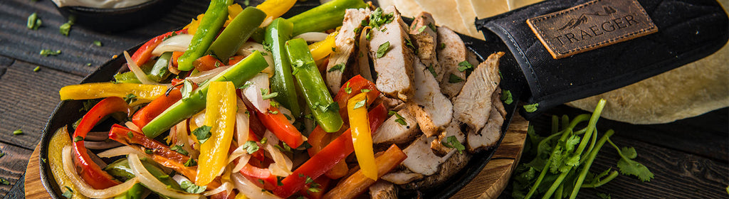 Traeger Grilled Chicken Fajitas