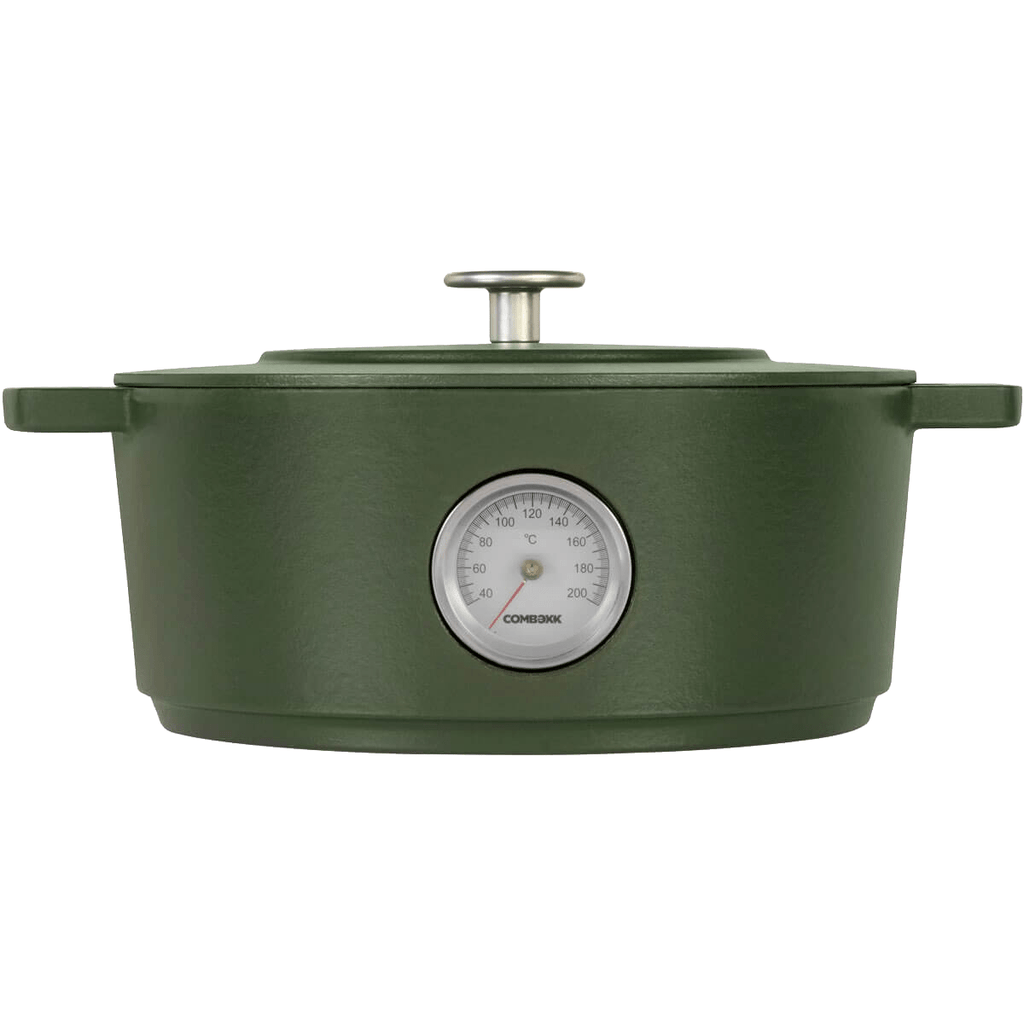 Dutch Oven Thermometer Green