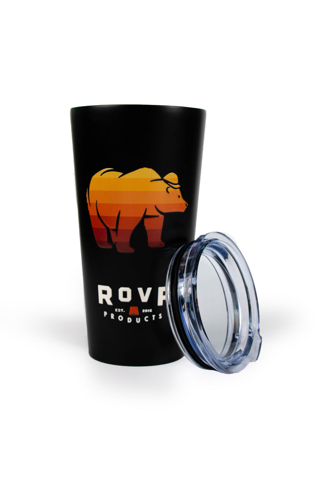 RovR - DOUBLE WALLED STAINLESS STEEL BEVERAGE BEAR CUP 16OZ.