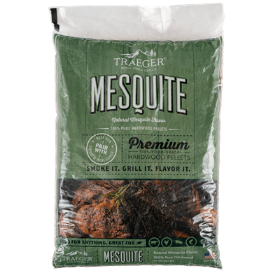 Mesquite Hardwood Pellets (20lb bag)