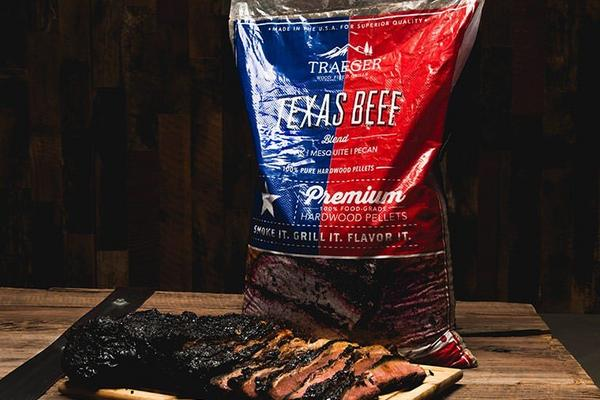 Texas Beef Blend Hardwood Pellets (20lb bag)