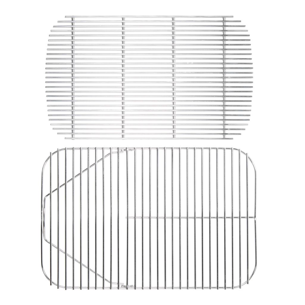 Stainless Steel Cooking Grid and Charcoal Grate Bundle for The Original PK Grill