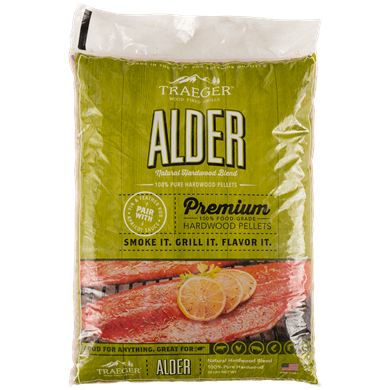 Alder Hardwood Pellets (20lb bag)