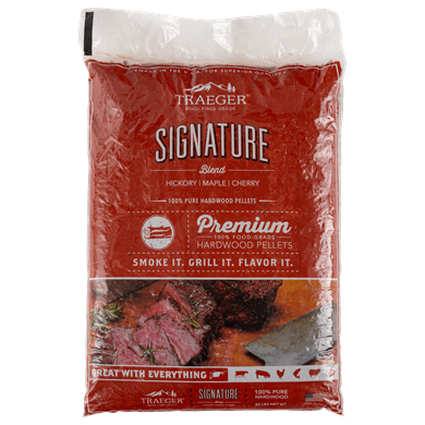 Signature Blend Hardwood Pellets (20lb bag)