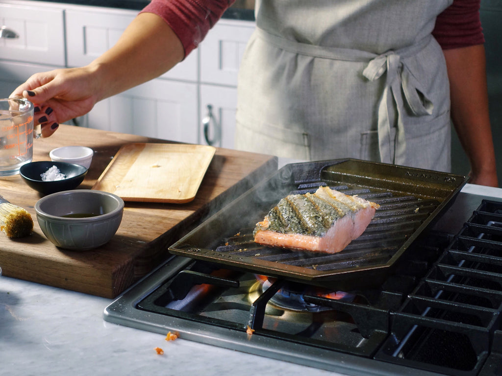 Finex Cast Iron Grill Pans