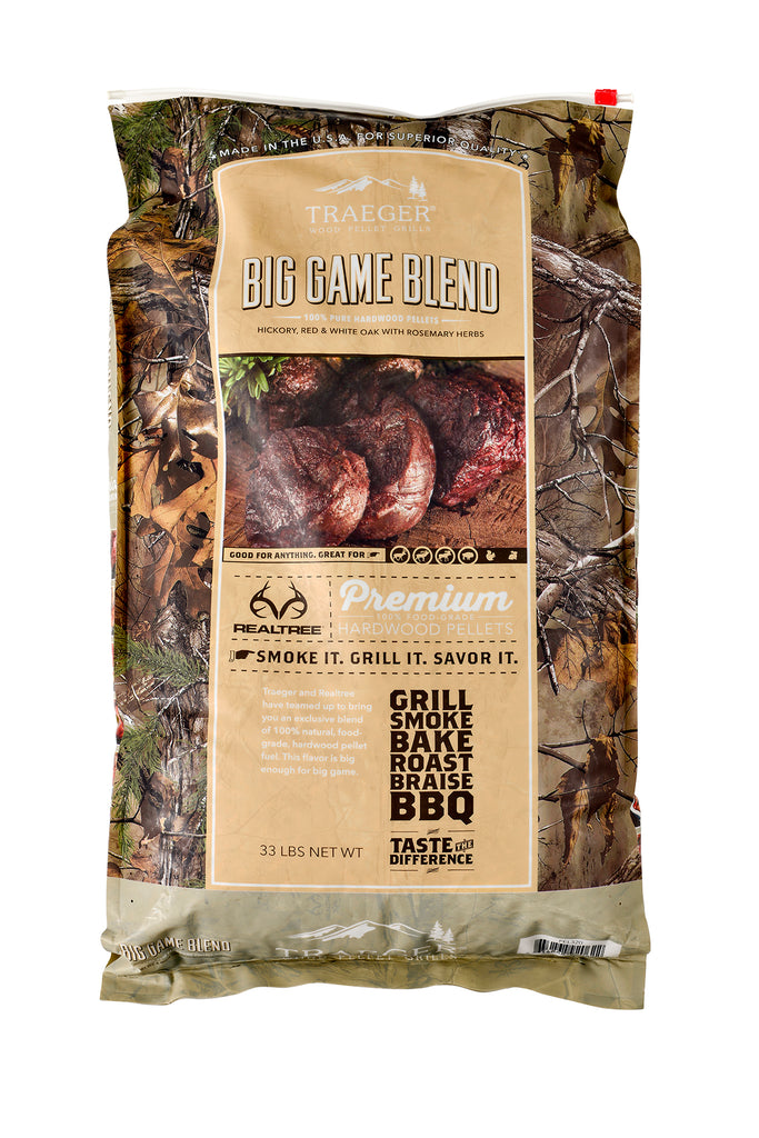 REALTREE Big Game Blend Hardwood Pellets (33lb bag)