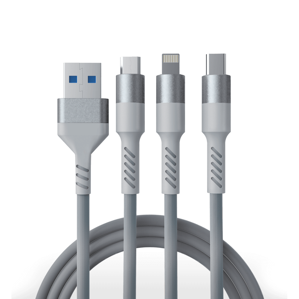 Fingers Official Triple Connect 3 in 1 cable
