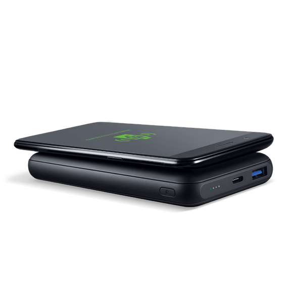 Fingers Official Pro Wireless PD-QC Wireless Charger + Power Bank