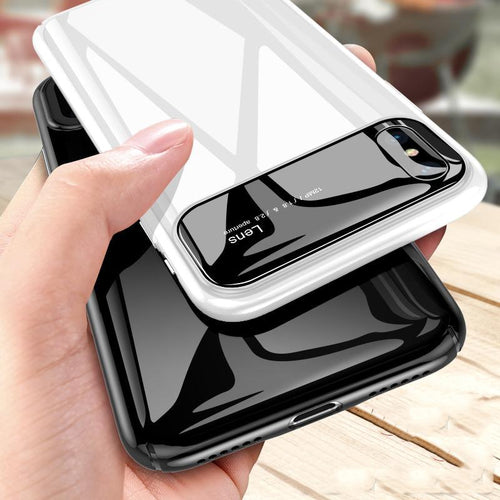 iPhone X Series Premium Lens Protective Glossy Case