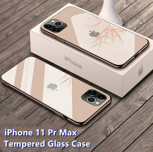 iPhone 11 Series Premium Tempered Glass Logo Protection