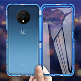 Auto-Fit Glass Magnetic Case for OnePlus 7T / 7T Pro