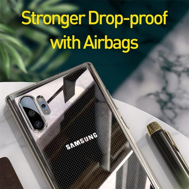 Galaxy Note 10 Shockproof FLEXIBLE SAFETY AIRBAGS CASE