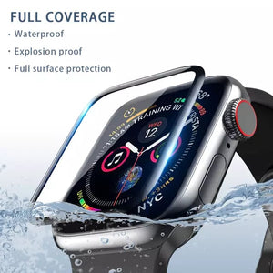 Curved Edge Tempered Glass for Apple Watch Series