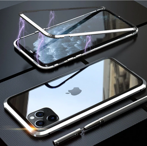 iPhone 11 Series Auto-Fit Glass Magnetic Case