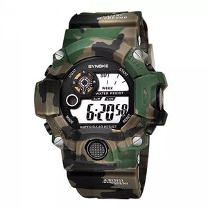 Synoke Army Camo Watch