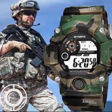 Load image into Gallery viewer, Synoke Army Camo Watch