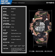 Load image into Gallery viewer, Synoke Desert Camo Watch