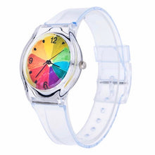 Load image into Gallery viewer, Rainbow Slice Watch