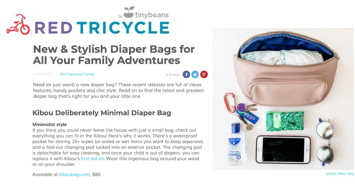 Red Tricycle - New & Stylish Diaper Bags for All Your Family Adventures
