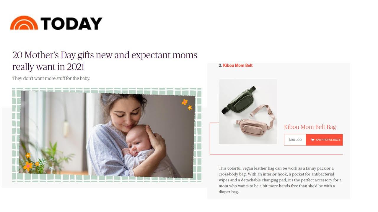 Today.com - 20 Mother's Day gifts new and expectant moms really want in 2021