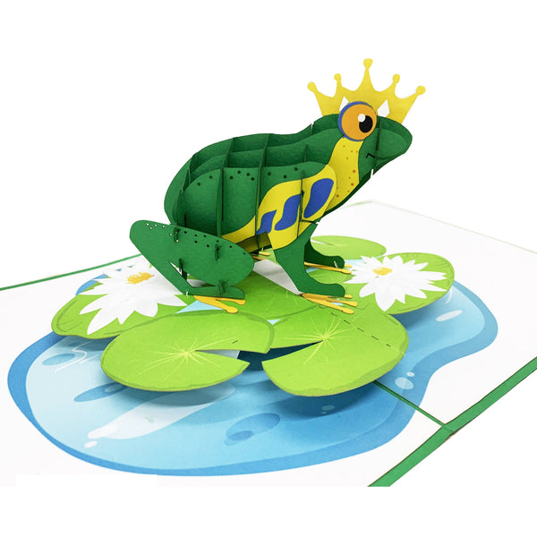 Frog Prince Pop Up Card
