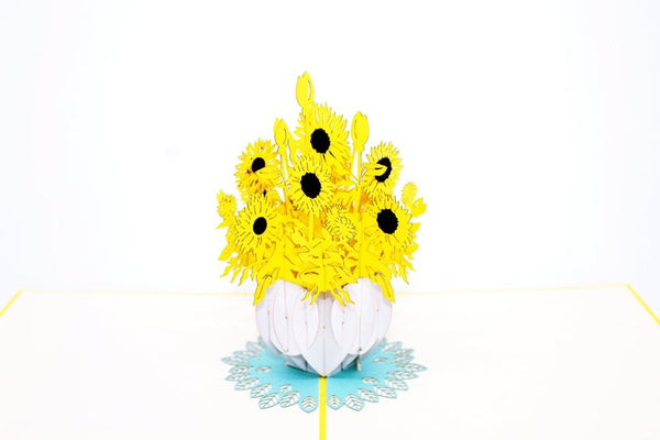 Sunflower 3D Card