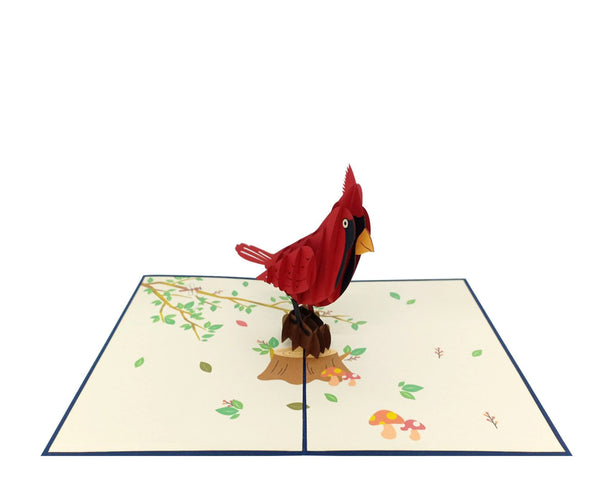 Cardinal 3D Pop Up Card