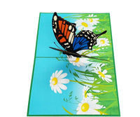 Butterfly and Daisies Pop Up Card