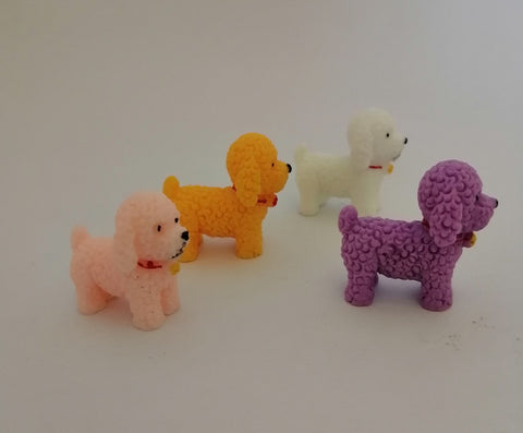 Miniatures - Cute Dog, 4 Pieces