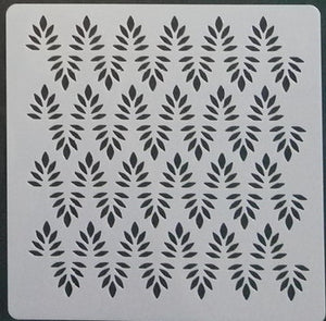 Stencil - Leaves and Leaves - 5*5