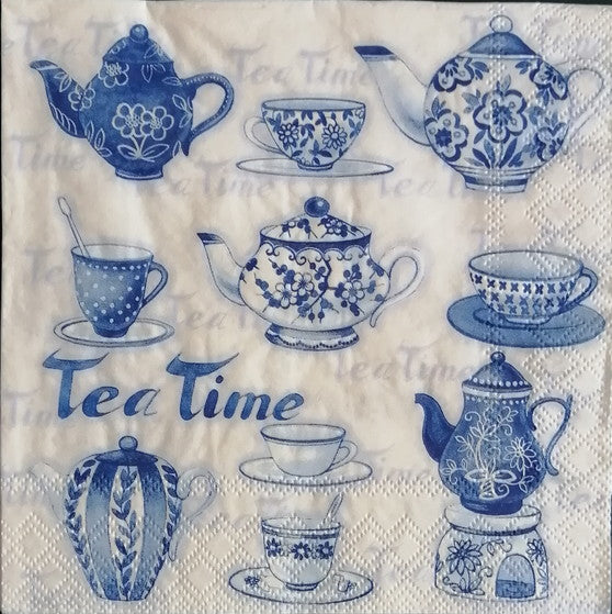 Tea Time 33 X 33 cm