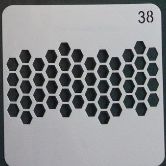 Stencil - Honey Comb - 5*5