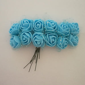 Foam Flowers - Blue 1