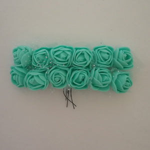 Foam Flowers - Green 1