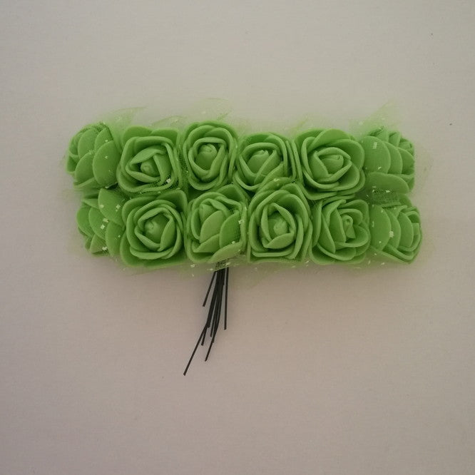 Foam Flowers - Green 2