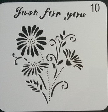 Stencil - Just for You - 5*5
