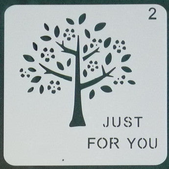 Stencil - Just for You (1) - 5*5