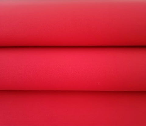 Foamiran Sheet - Red
