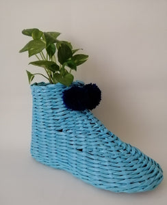 Handwoven Shoe - Sky Blue