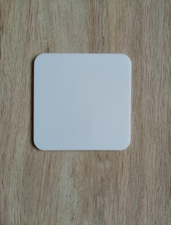 Acrylic Coaster - Square with Round Edges - 4""
