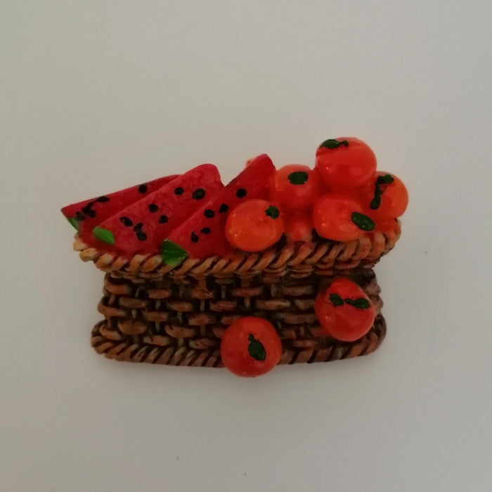 Fridge Magnet - Melon Basket