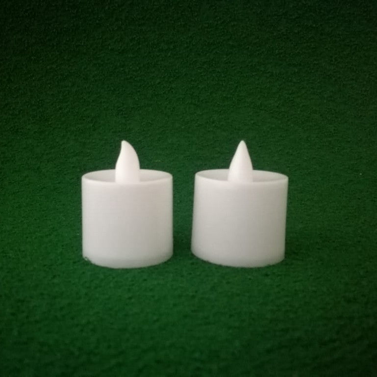 LED Tealight Candle - Big White